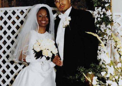 Author with Wife LeCresha
